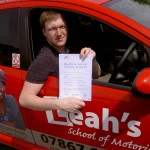 James Gzowski passed his practical car test on 13/06/2011